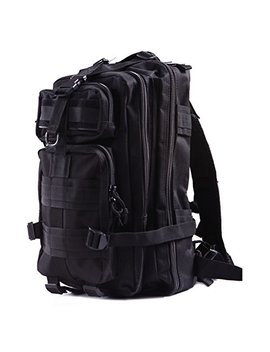 Hde Military Tactical Backpack Expandable Small Lightweight Assault Pack 20 L Molle Combat Bug Out Bag For Outdoors, Hiking, Camping, Trekking And Traveling by Hde