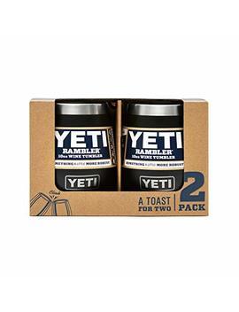 Yeti Rambler 10 Oz Stainless Steel Vacuum Insulated Wine Tumbler by Yeti