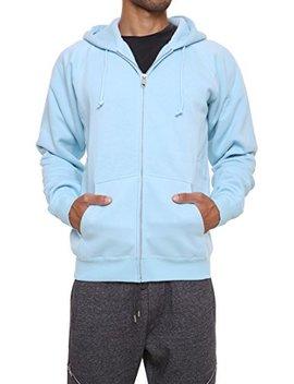 Forbidefense Men's Sweatshirt Hoodies Full Sleeve Front Zip Premium Hood 2 Kangaroo Split Pocket by Forbidefense