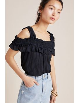 Finn Open Shoulder Top by Anthropologie