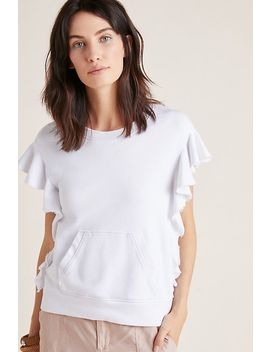 Flutter Sleeved Sweatshirt Tee by David Lerner