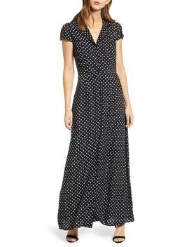 Polka Dot Maxi Dress by Row A