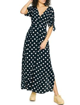 Love Worn Polka Dot Maxi Dress by Sanctuary