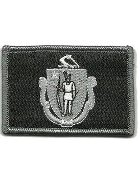 Tactical State Patch   Massachusetts by Gadsden And+Culpeper