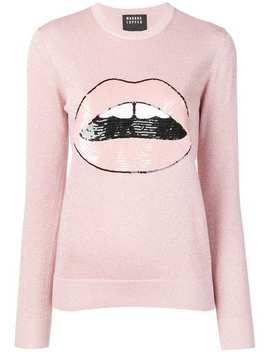 Mia Sequin Laura Lip Sweater by Markus Lupfer