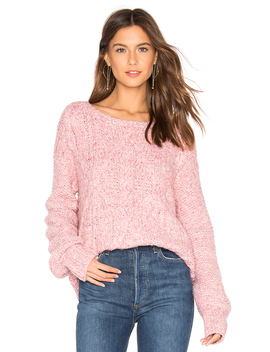Mix Stitch Cable Pullover by 525 America
