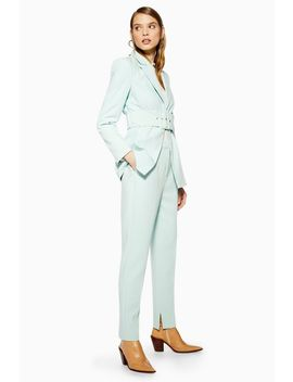 Split Cigarette Trousers by Topshop
