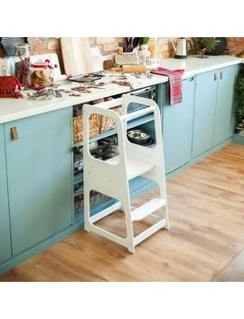 """<Span Data Preview Title="""""""">Learning Tower Kitchen Helper Kitchen Stool Safety Stool Toddler Step Stool Kid ...</Span>          <Span Data Full Title="""""""" Aria Hidden=""""True"""" Class=""""Display None"""">Learning Tower Kitchen Helper Kitchen Stool Safety Stool To... by Etsy"""