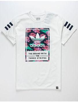Adidas Lotus Blackbird V2 Classic White Mens T Shirt by Adidas