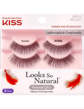 looks-so-natural-lash,-graceful-double-pack by kiss