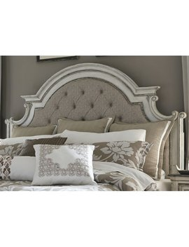 Treport Upholstered Panel Headboard by One Allium Way