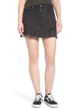 Levi's(R) Deconstructed Denim Skirt (Gimme Danger) by Levi's