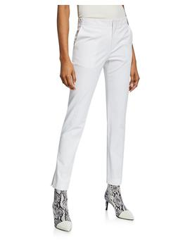 Slim Cotton Ankle Pants by Helmut Lang