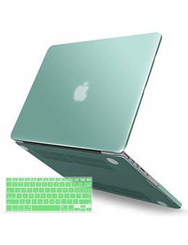 Ibenzer Mac Book Pro 13 Inch Case 2012 2015, Soft Touch Hard Case Shell Cover With Keyboard Cover For Apple Mac Book Pro 13 With Retina Display A1425 1502, Green, Mmp13 R Gn+1 A by Ibenzer