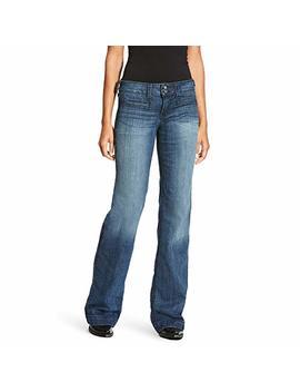 Ariat Outseam Ella Wide Leg Trouser Jean by Ariat