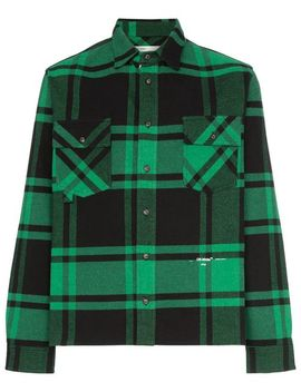 Long Sleeve Check Shirt by Off White
