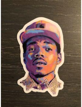 Chance The Rapper Art Space Portrait Sticker Vinyl Good Quality Hip Hop by Unbranded
