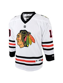 Reebok Jonathan Toews Chicago Blackhawks Youth Nhl White Replica Jersey by Reebok