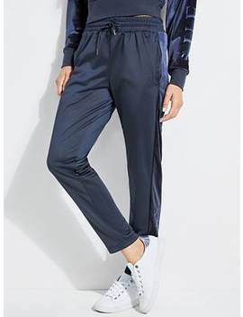 Velvet Insert Track Pants by Guess