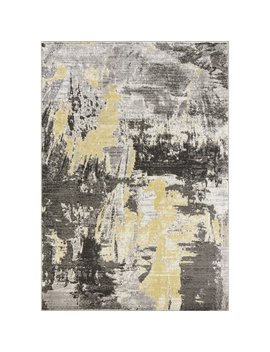 Capuano Watercolor Gray Area Rug by Winston Porter