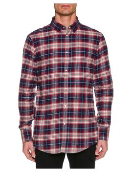 Men's Check Cotton Button Down Shirt by Dsquared2