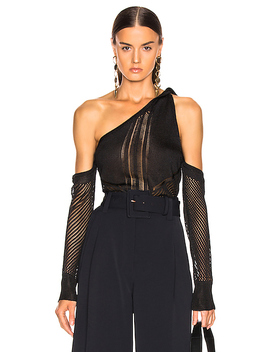 Cold Shoulder Knit Top by Cushnie