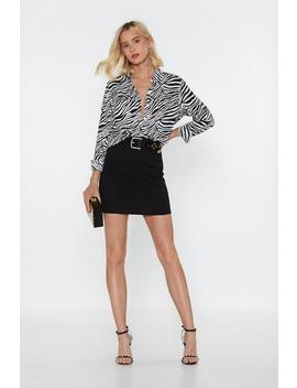 Bandage Together Bodycon Mini Skirt by Nasty Gal