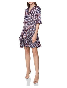 Orla Geo Print Dress   100 Percents Exclusive by Reiss