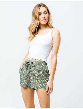 Sky And Sparrow Ditsy Floral Womens Shorts by Sky And Sparrow