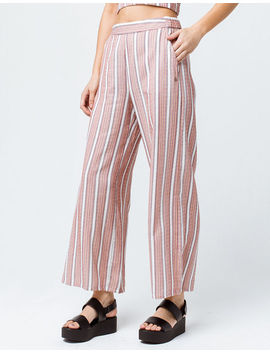 Roxy Midnight Avenue Striped Womens Wide Leg Pants by Roxy