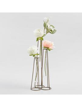 Glass Tube Three Tier Vase by World Market