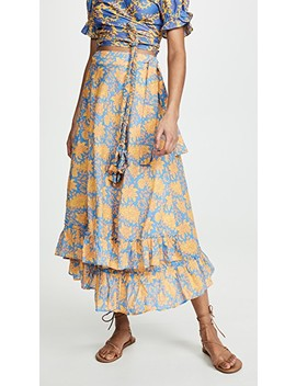 Feliz Wrap Skirt by Apiece Apart