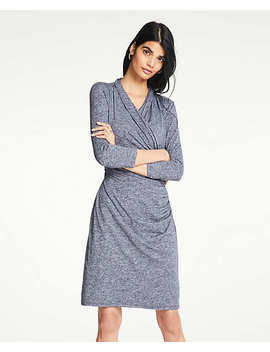 Knit Wrap Dress by Ann Taylor