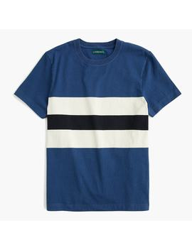 J.Crew Always 1994 T Shirt With Chest Stripe by J.Crew