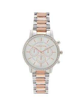 Red Herring   Womens' Silver Crystal Sports Watch by Red Herring
