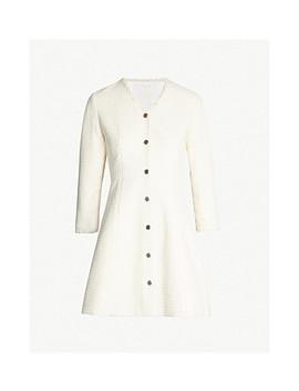 Ryzer Bouclé Tweed Dress by Maje