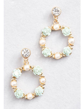 Within Wreath Earrings by Modcloth