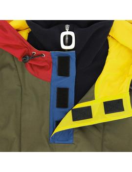 Half Zip Cotton Jacket Khaki by J.W. Anderson