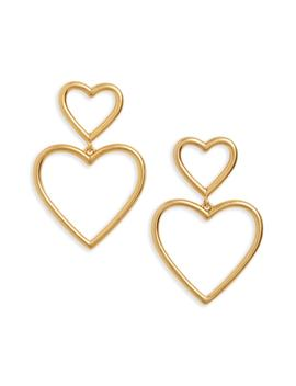Open Hearted Statement Earrings by Madewell