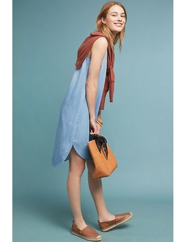 Cloth & Stone Bow Tied Chambray Dress by Cloth & Stone
