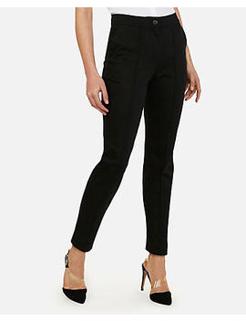 High Waisted Seamed Ankle Pant by Express
