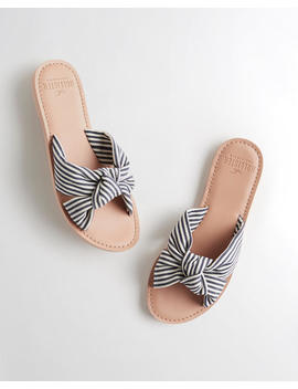Knot Slide Sandal by Hollister