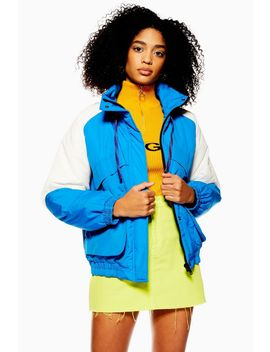 Padded Windbreaker Jacket by Topshop