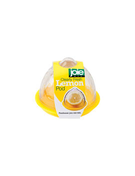 Joie Lemon Storage Pod, Clear/Yellow by Joie