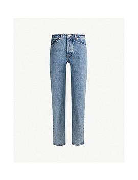 Marianne Straight High Rise Jeans by Samsoe & Samsoe