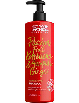 Passion Fruit Kombucha & Awapuhi Ginger Youth Revival Shampoo by Not Your Mother's