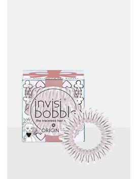 Invisibobble 3 Pack Clear Princess Of Hearts Original Hair Bobble by Missguided