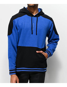 Primitive Moods Contoured Blue & Black Hoodie by Primitive