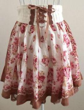 Liz Lisa Kawaii  Floral Design Skirt Excellent++ Condition  From Japan by Liz Lisa