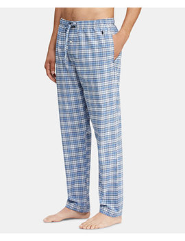 Men's Plaid Pajama Pants by Polo Ralph Lauren